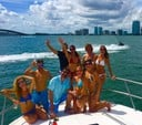 58 ft. Sea Ray Boats  65' Princess Cruiser Boat Rental Miami Image 31