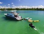 58 ft. Sea Ray Boats  65' Princess Cruiser Boat Rental Miami Image 36