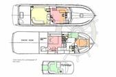 60 ft. Navigator Rival Motor Yacht Boat Rental Miami Image 7