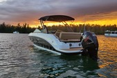 25 ft. Sea Ray Boats 250 SLX Bow Rider Boat Rental Miami Image 4