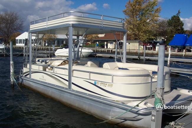 Rent a Bennington Marine pontoon in St. Pete Beach, FL near me
