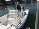 18 ft. Sea Hunt Boats Triton 177 Center Console Boat Rental Fort Myers Image 3