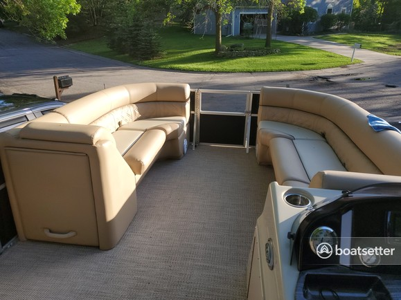 Rent a Montego Bay by Northport pontoon in White Bear Lake, MN near me
