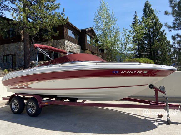 Rent a Sea Ray Boats bow rider in South Lake Tahoe, CA near me