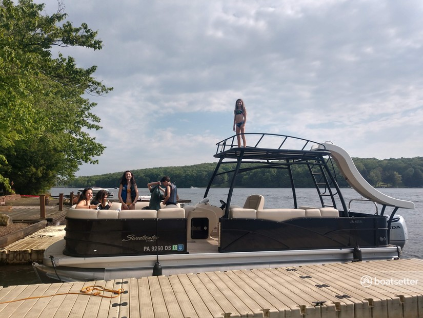 Rent a Godfrey Marine pontoon in Central City, PA near me