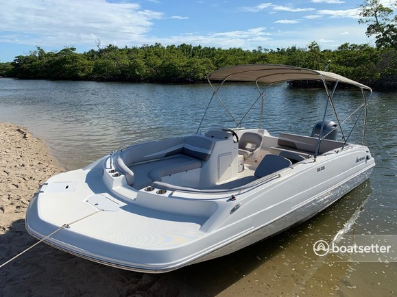 Rent a Hurricane Boats deck boat in Placida, FL near me