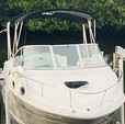25 ft. Sea Ray Boats 240 Sundancer Cruiser Boat Rental Tampa Image 4