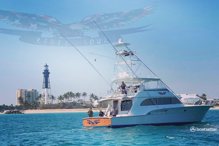 Rent a Donzi offshore sport_fishing in Hillsboro Beach, FL near me