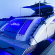 75 ft.  Lazzara LSX 75 Motor Yacht Boat Rental Washington DC Image 5