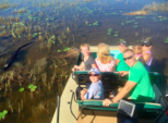 21 ft. Alligator Airboat 21 Airboat Boat Rental Miami Image 4