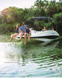 20 ft. 2017 TAHOE 1950 Deck Boat Boat Rental Miami Image 8
