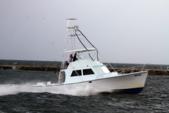 46 ft. Hatteras Yachts 46 Convertible Saltwater Fishing Boat Rental The Keys Image 3