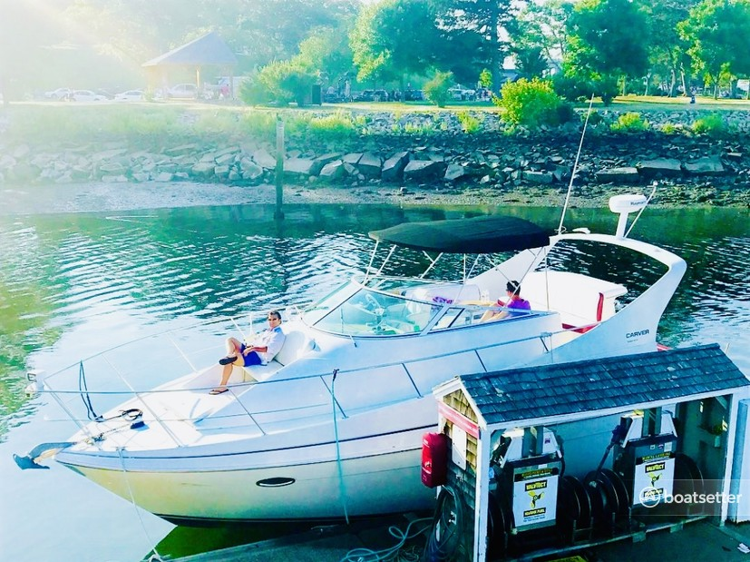 Rent a Carver Yachts cruiser in Boston, MA near me
