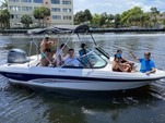 19 ft. Rinker Boats QX18 OB Bow Rider Boat Rental Miami Image 7