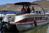 28 ft. South Bay Pontoons 925 Sport TT Tri-Tube Pontoon Boat Rental Phoenix Image 15