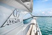70 ft. Azimut Yachts 70 Sea Jet Motor Yacht Boat Rental Miami Image 22