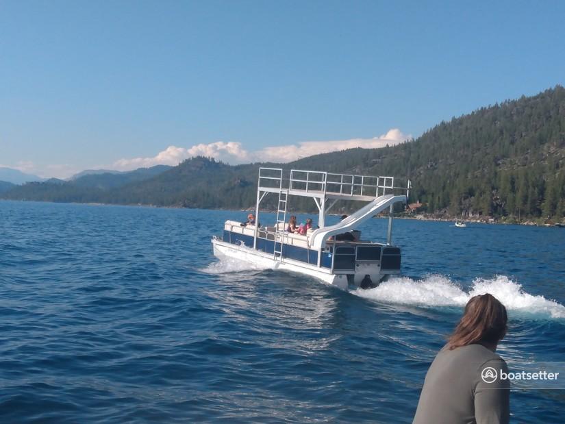 Rent a eroca pontoon in South Lake Tahoe, CA near me