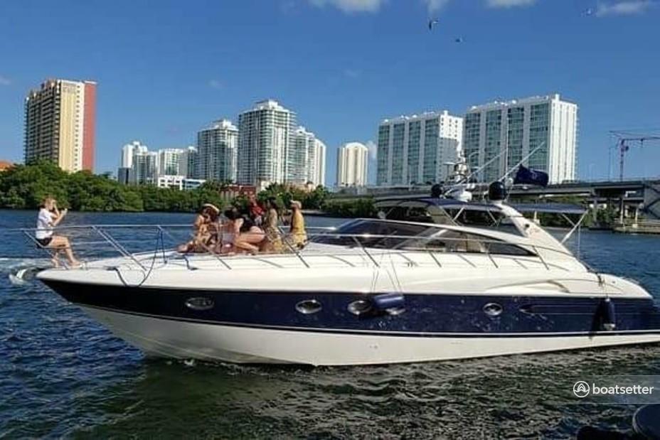 Rent a Viking Princess Yacht cruiser in North Miami Beach, FL near me