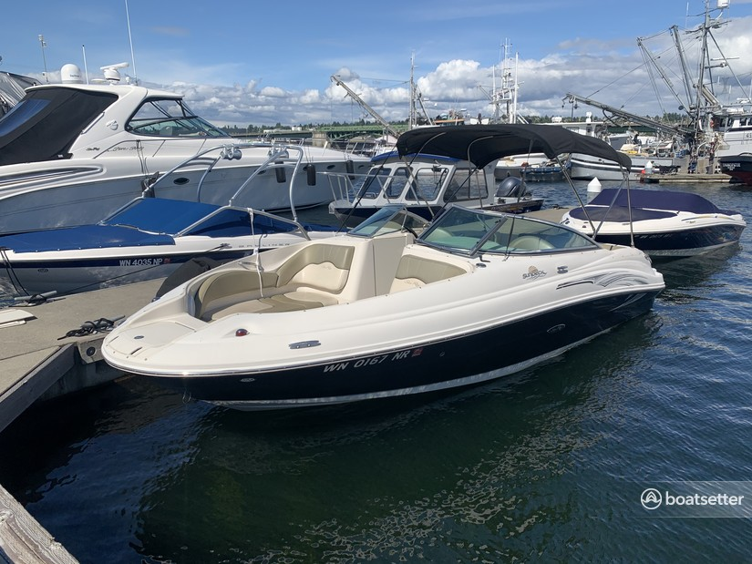 Rent a SEA RAY BOATS deck boat in Seattle, WA near me