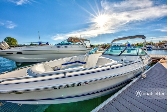 Rent a Formula by Thunderbird bow rider in South Lake Tahoe, CA near me