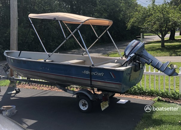 Rent a Mirrocraft by Northport aluminum fishing in Toms River, NJ near me