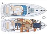 44 ft. Regal Boats Commodore 4260 Cruiser Boat Rental Miami Image 17