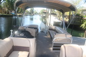 26 ft. Sun Tracker by Tracker Marine Party Barge 24 XP3 w/150ELPT 4-S Pontoon Boat Rental Rest of Southeast Image 3