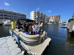 20 ft. Misty Harbor 225CR Adventure Pontoon Boat Rental Miami Image 17
