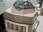 23 ft. Aloha Pontoons Tropical Bimini Pontoon Boat Rental Dallas-Fort Worth Image 3