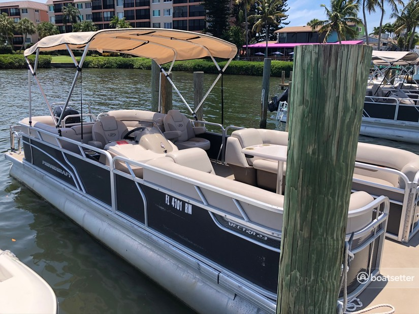 Rent a Princecraft pontoon in Sarasota, FL near me