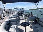 23 ft. Aloha Tropical Bimini Pontoon Boat Rental Fort Myers Image 3
