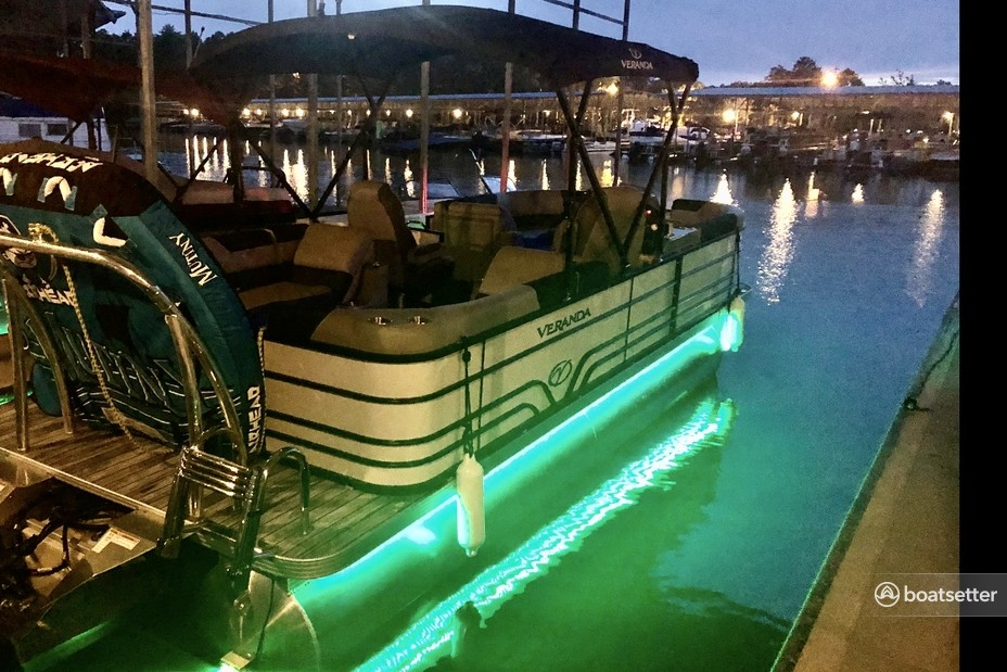 Rent a Veranda pontoon in Gainesville, GA near me