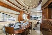 80 ft. Azimut 80 Flybridge Boat Rental Miami Image 3