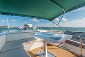 48 ft. 48' Azimut Flybridge Boat Rental Miami Image 4