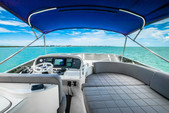 62 ft. 62' Azimut Flybridge Boat Rental Miami Image 11