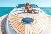 75 ft. 75' Lazzara Cruiser Boat Rental Miami Image 5