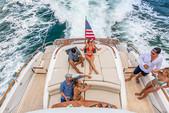 75 ft. 75' Lazzara Cruiser Boat Rental Miami Image 6