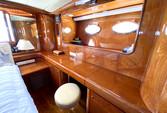 70 ft. Johnson Boats J Sailer Motor Yacht Boat Rental Los Angeles Image 13