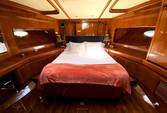 70 ft. Johnson Boats J Sailer Motor Yacht Boat Rental Los Angeles Image 16