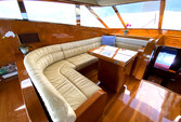 70 ft. Johnson Boats J Sailer Motor Yacht Boat Rental Los Angeles Image 7