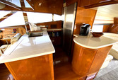 70 ft. Johnson Boats J Sailer Motor Yacht Boat Rental Los Angeles Image 8