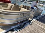 23 ft. Harris FloteBote 220 Cruiser FS Triple Tube w/150L 4-S Pontoon Boat Rental Atlanta Image 3