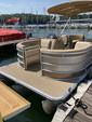 23 ft. Harris FloteBote 220 Cruiser FS Triple Tube w/150L 4-S Pontoon Boat Rental Atlanta Image 4