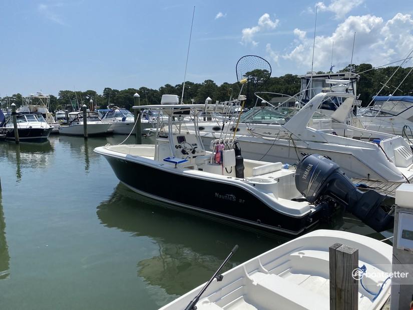 Rent a NauticStar Boats center console in Virginia Beach, VA near me