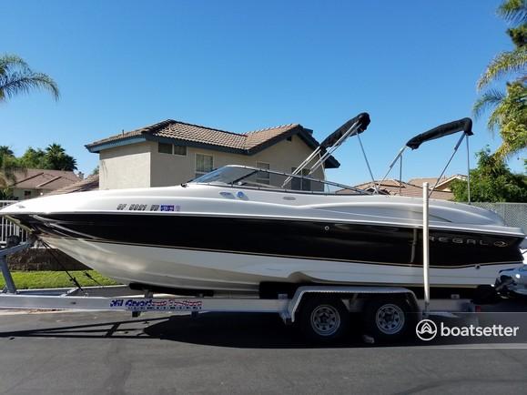 Rent a Regal Boats deck boat in Riverside, CA near me