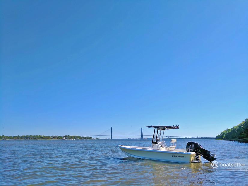 Rent a Sea Pro Boats center console in Mount Pleasant, SC near me