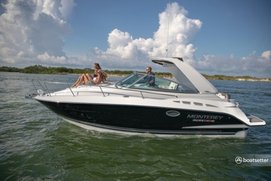 Rent a Monterey Boats cruiser in Hampton Bays, NY near me