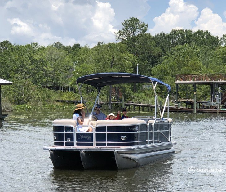 Rent a Berkshire Pontoons pontoon in Fairhope, AL near me