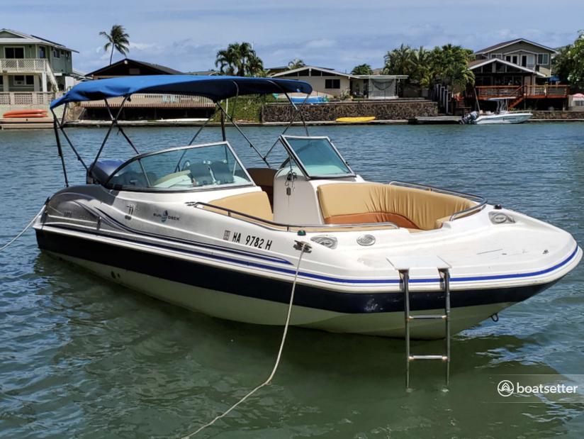 Rent a Hurricane Boats bow rider in Honolulu, HI near me