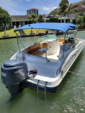 24 ft. Hurricane Boats FD 236 RE3 w/F250TXR Bow Rider Boat Rental Hawaii Image 4